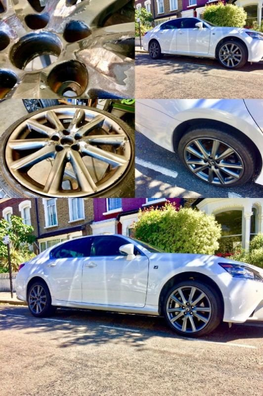 Lexus GS 350 Severe Rim Damage/Refurb | Alloywheelwelding.co.uk