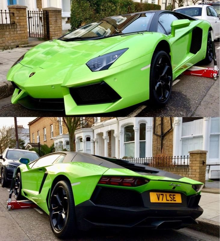 Lambourgini Aventador LP700/4 - Gloss Black Refurb | Alloywheelwelding.co.uk