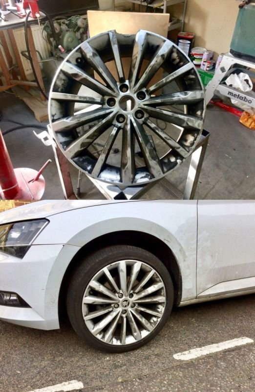 Skoda Octavia / Severe Rim Damage Repair | Alloywheelwelding.co.uk
