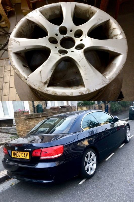 BMW 325i Convertable Titanium Refub | Alloywheelwelding.co.uk