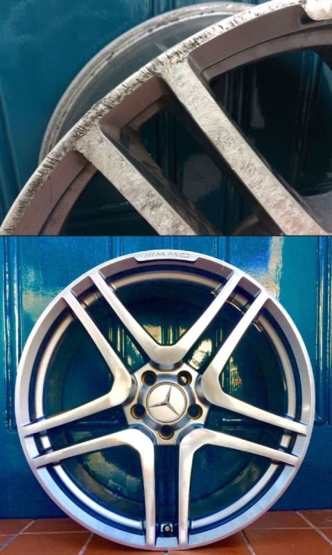 AMG Mercedes Diamond Cut Repair | Alloywheelwelding.co.uk