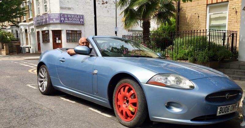 Jaguar XK 4.2 Convertible Crack Repair | Alloywheelwelding.co.uk