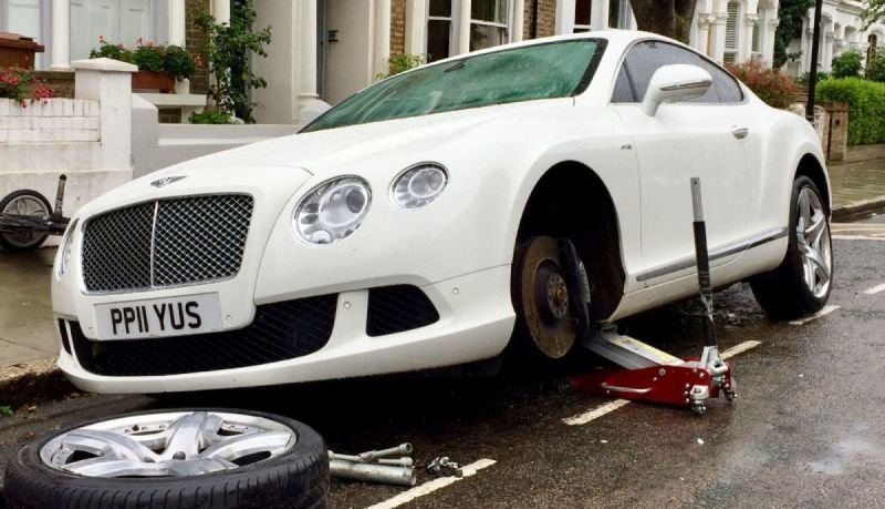 Bentley Continental GT V8 Crack Repair | Alloywheelwelding.co.uk