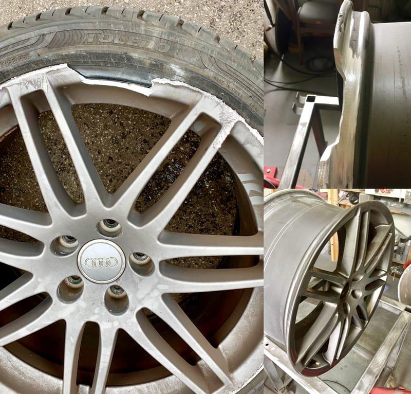 Audi Q7 Structural Repair | Alloywheelwelding.co.uk