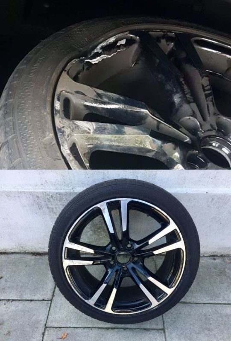 Audi A3 Structural Diamond Cut Repair | Alloywheelwelding.co.uk