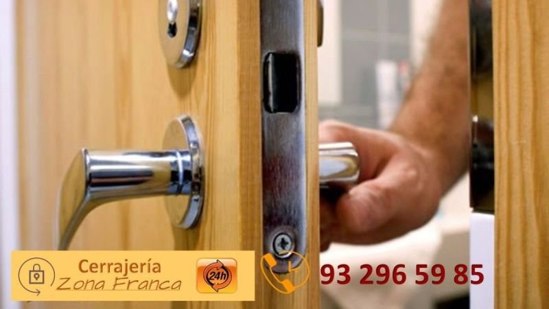 Cerrajería Zona Franca  Tel.  93 296 59 85