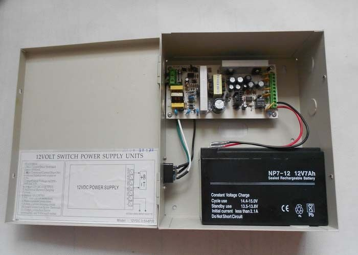 backup power supply pin point security