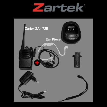 ZARTEK ZA - 725 KIT + ACOUSTIC EARPHONE R1590.00
