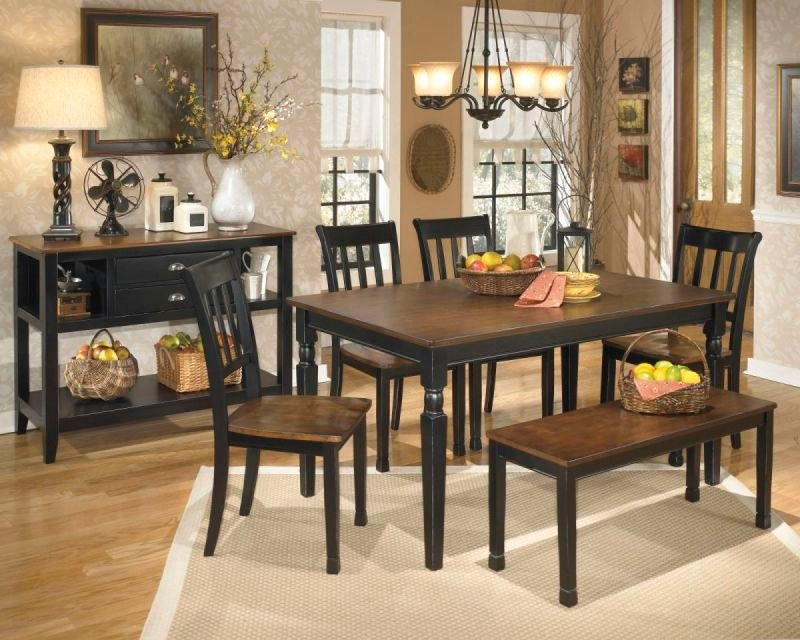 OWINGSVILLE D580 DINING SUITE
