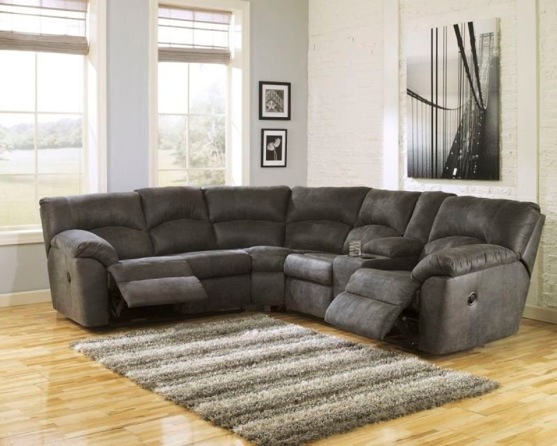 TAMBO PEWTER 278 RECLINING SECTIONAL