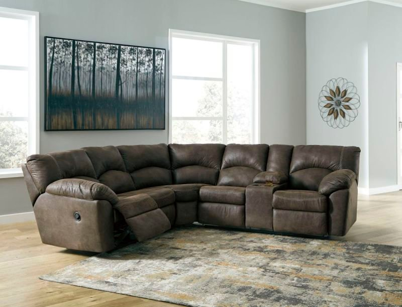 TAMBO CANYON 278 RECLINING SECTIONAL