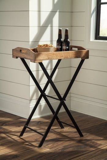 A4000018 CADOCRIDGE BROWN ACCENT TABLE