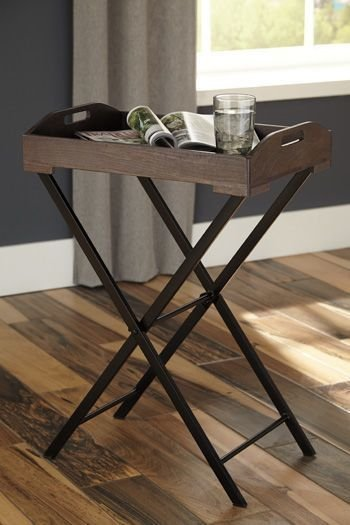 A4000019 CADOCRIDGE GRAY ACCENT TABLE
