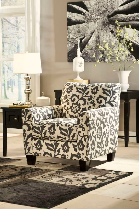 LEVON CHARCOAL 73403 ACCENT CHAIR