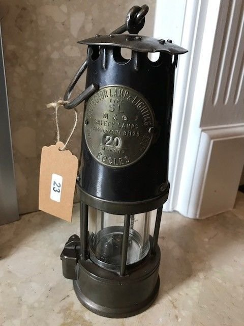 Lot 23 - Early Miners Lamp - £30 to £40