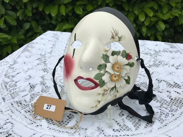 Lot 27 - New Orleans Venetian-Style Masquerade Mask - £20 to £30