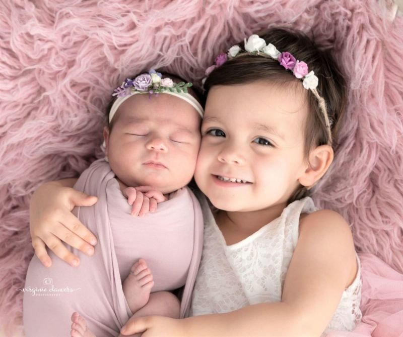 Bébé et sa grande soeur