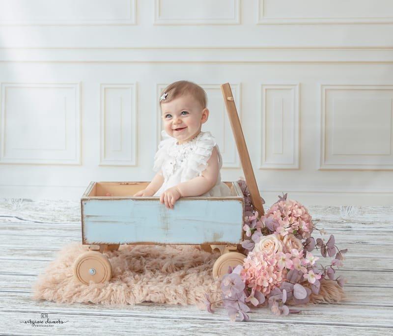 Petite fille 9 mois