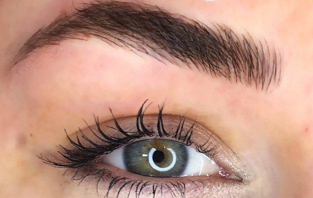 microblading, permanent makeup, brow wax, brow tint, lip