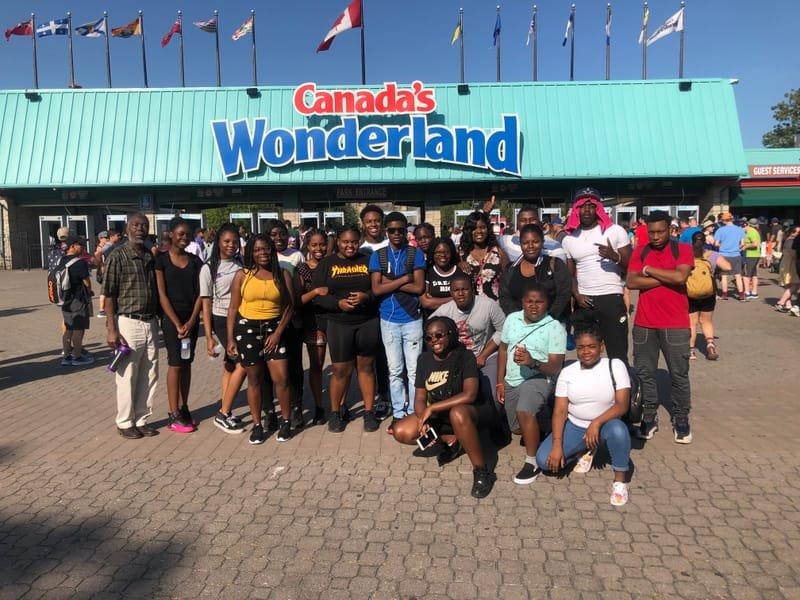 La jeunesse au Canada Wonderland