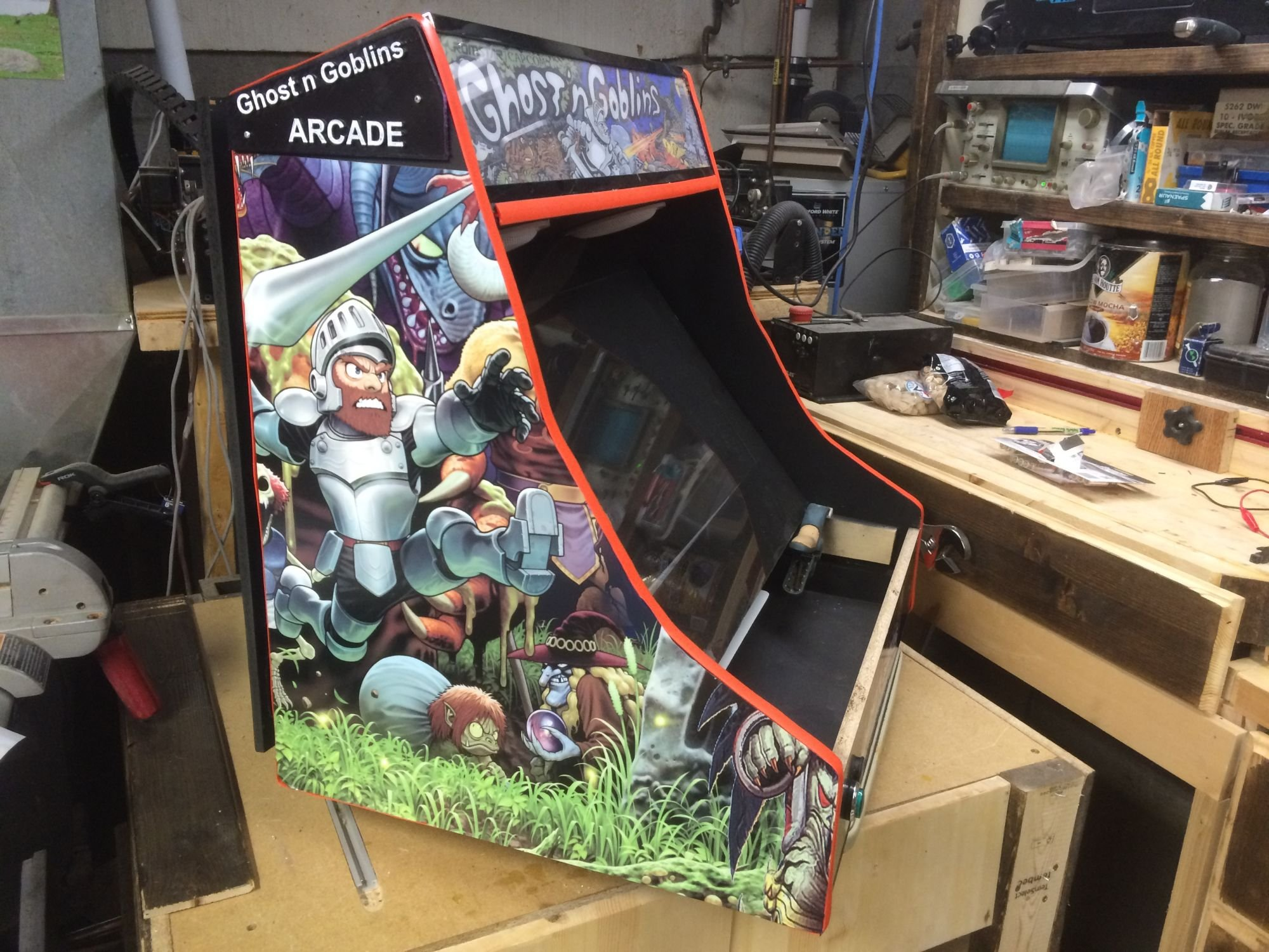 Ghost And Goblins 2 Players Arcade Punks Worldwide