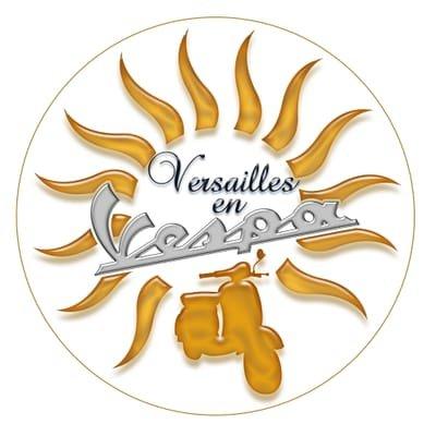 Versailles en vespa