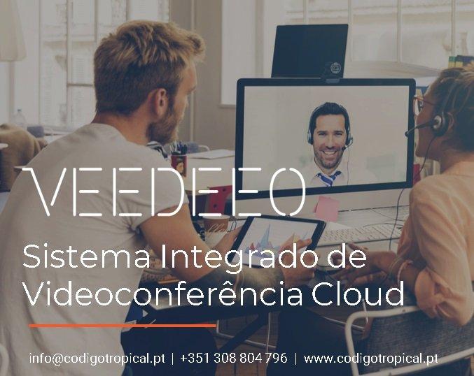 VEEDEEO é a plataforma de videoconferência do futuro (preços sob-consulta)