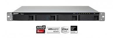 NAS QNAP 4-Bay TurboNAS, AMD Quad-Core 2.0GHz, 4GB RAM (max 16GB), 1 x 10GbE(pre-installed PCIe card)