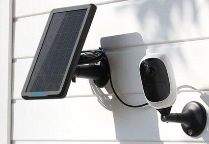 150.000 Akz = Camara CCTV IP Exterior wifi com Painel Solar