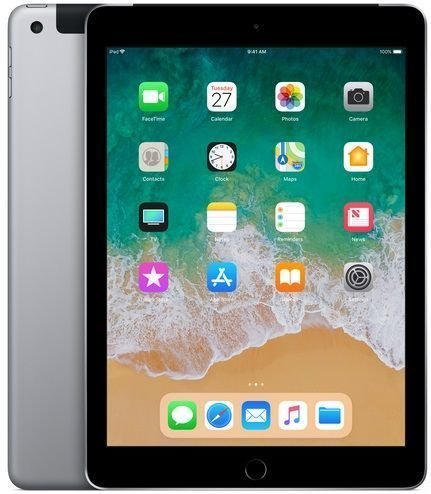 355.000 Akz = Apple iPad Wi-Fi + Cellular 128GB - Space Grey