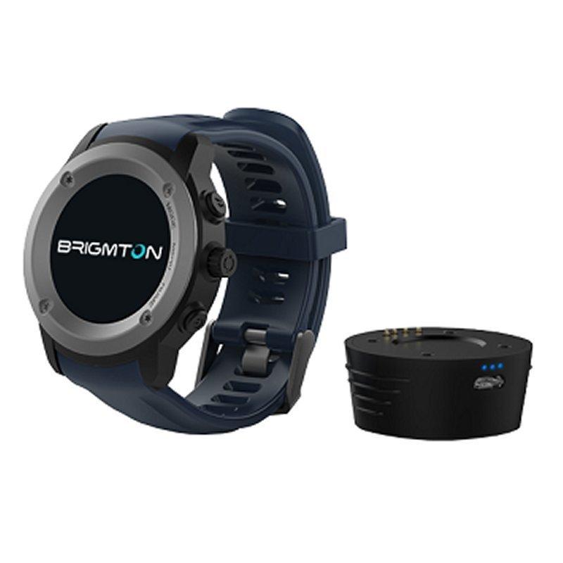 84.000 Akz = Brigmton BWATCH-100GPS SmartWatch GPS IP54 Azul