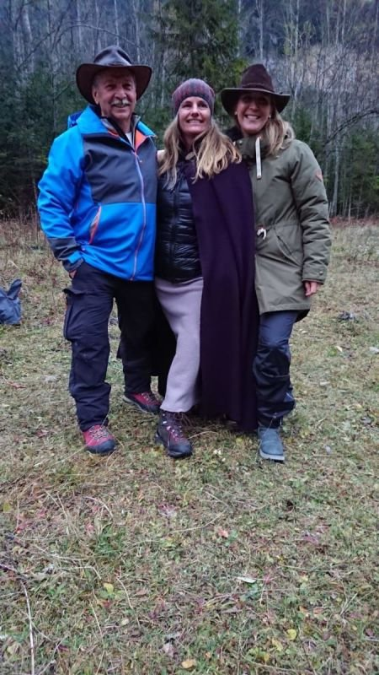 Hans, Melanie, Corinna