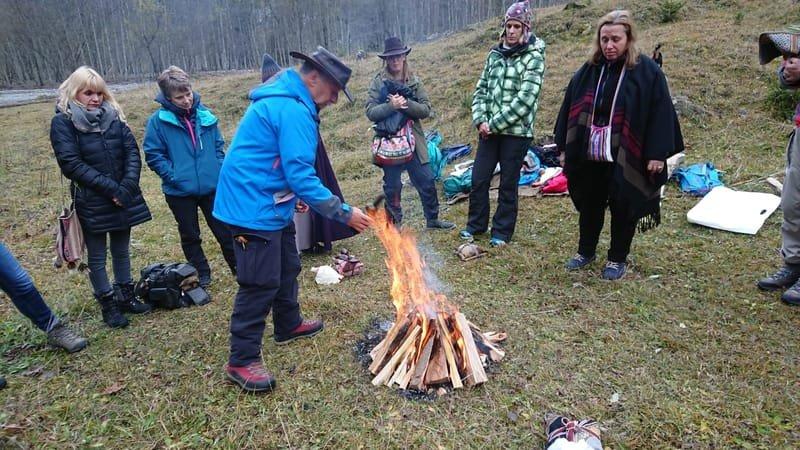 Despacho-Feuer zu Ehren der Ahninnen und Ahnen