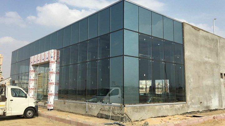 مشروع مبنى التسوق بجده