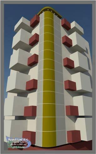مشروع لعمارة سكنيه