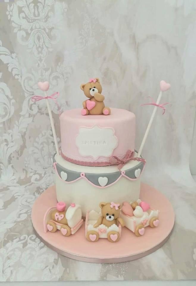 τούρτα από ζαχαρόπαστα αρκουδάκια little bear, μπουφέ βάπτισης κουλουράκια και cup cakes με ζαχαρόπαστα, Ζαχαροπλαστειο καλαματα madame charlotte, birthday baptism theme cakes and cookies kalamata, madamecharlotte.gr, τούρτες γεννεθλίων γάμου βάπτησης παιδικές θεματικές