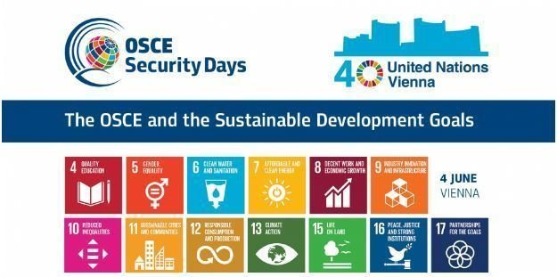 OSCE Security Day conference focuses on Sustainable Development Goals