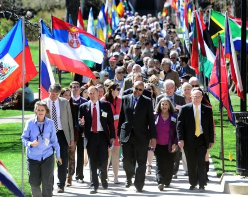 EDRC Represented at 71st Conference on World Affairs