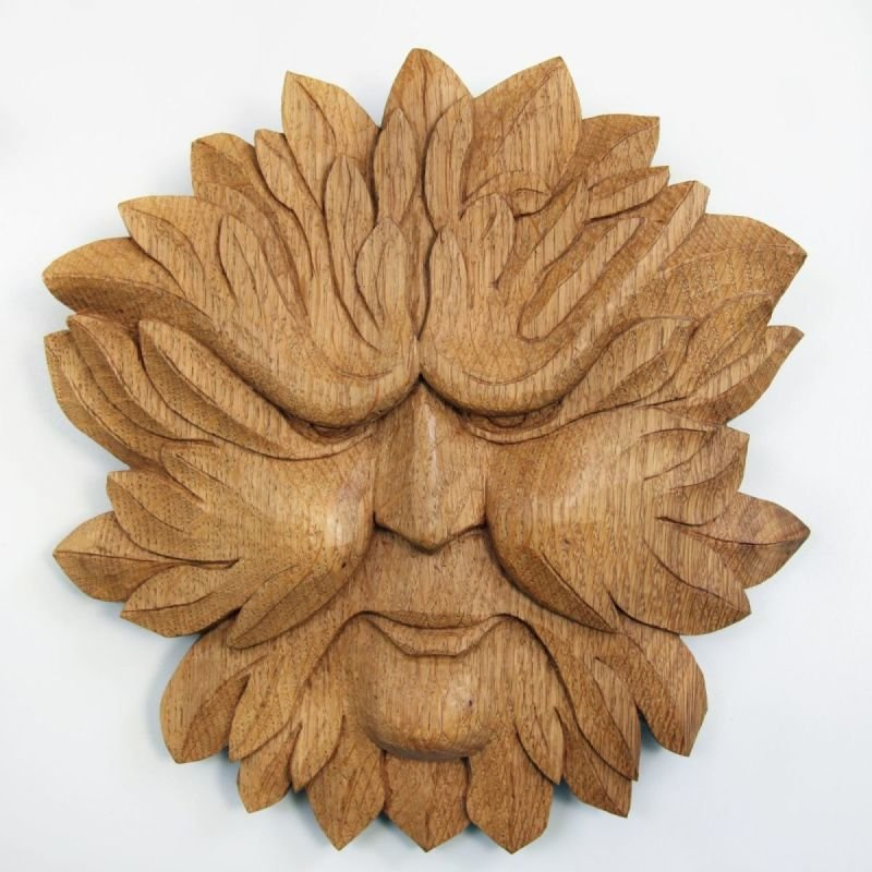 The first Green man that I carved