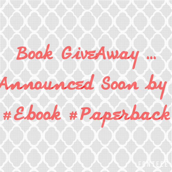 Book GiveAway .....