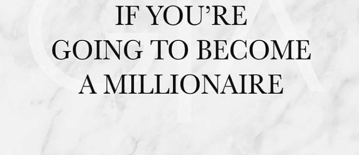 "DO YOU WANT TO BE A ""MILLIONAIRE""?"