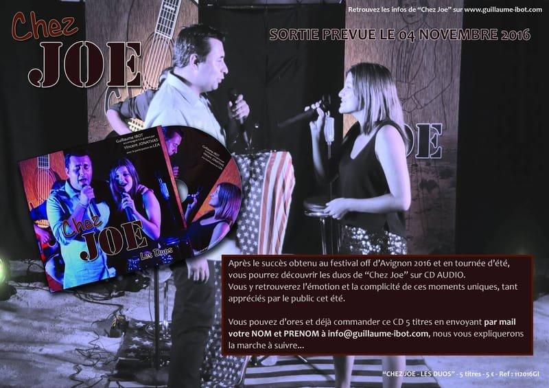 "GUILLAUME IBOT  "" tribute to Joe Dassin"" le seul !"