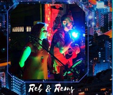 REB & REMS, reprises internationales et françaises,  soul, motown, pop, rock.