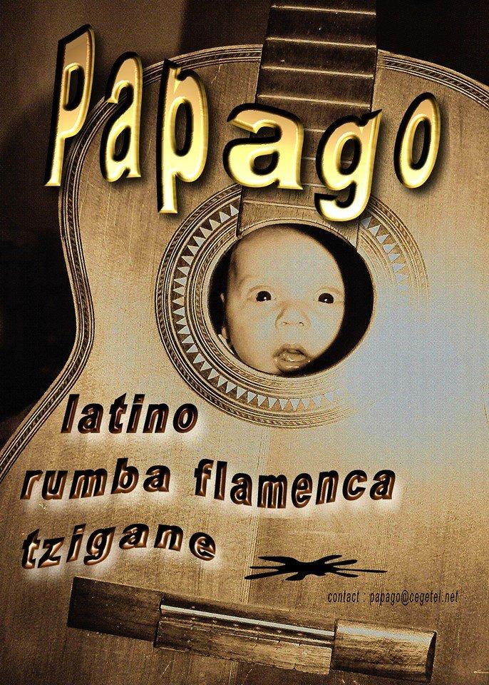 PAPAGO,rumba flamenca avec un zeste de ritmo latino russe