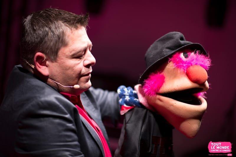 JULIEN ROUGE, ventriloque
