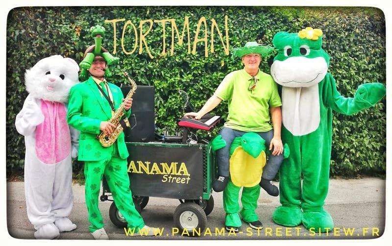 les TORTMAN,  Deux tortues swing  délirantes