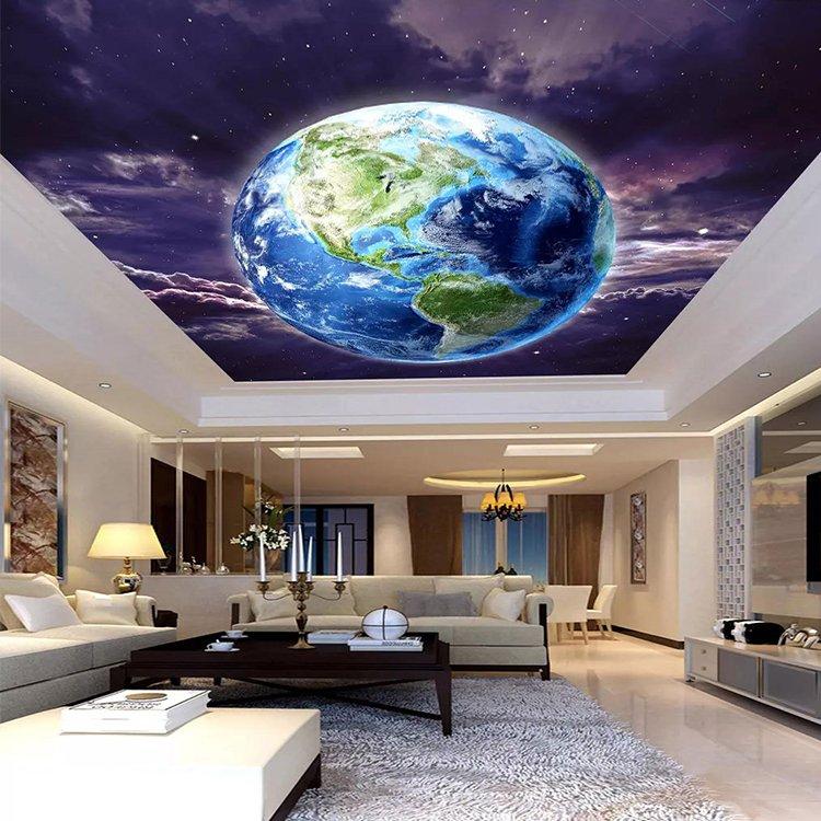 Modern Drop Building Ceiling Accessories Baffle Luxury Pop