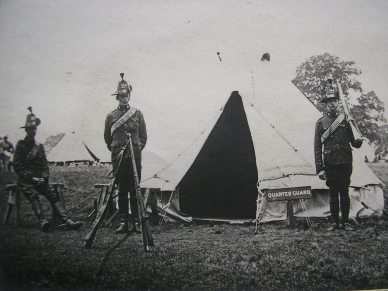 Annual Camps 1902-03