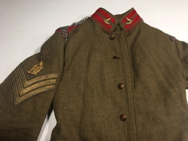 King Edward's Horse Undress Tunic 1910-14 Part 2