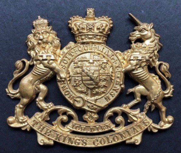 First Pattern Regimental Headdress Badge - Genuine